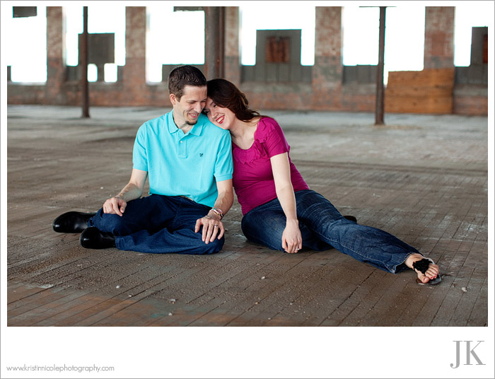 Mckinney Cotton Mill Photography Engagement and Wedding Jeremy and Kristin