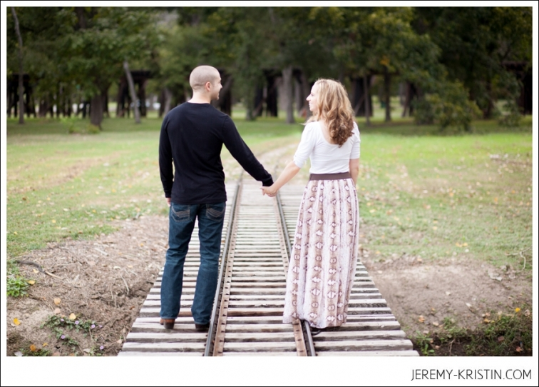 Trinity Park and TCU Fort Worth Engagement Session wedding photography by modern photographers Jeremy & Kristin