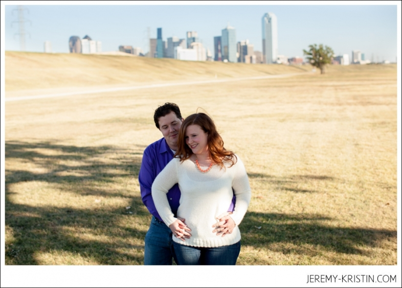 Dallas Arts District Winspear Opera House theater engagement session