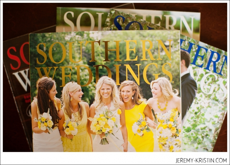 Dallas Fort worth Wedding Photographers featured in Southern Weddings Magazine