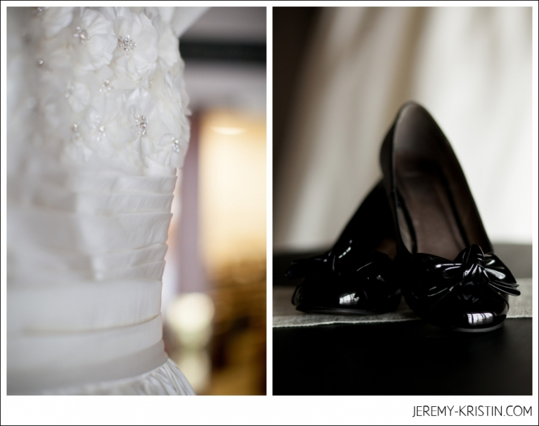 Black Wedding Shoes Photo