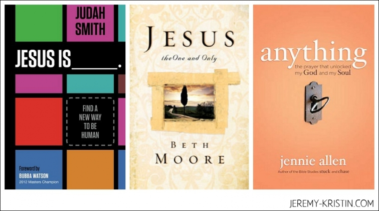 Jesus is book Beth Moore Book Anything jennie Allen book photo
