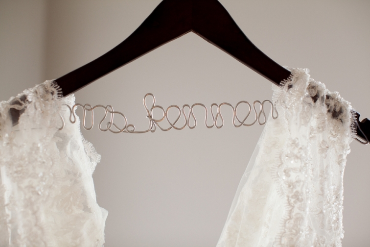 Wedding Name Hanger The Milestone Wedding
