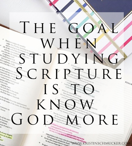 goalofstudyingscripture